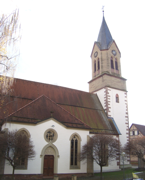 Martinskirche in Gechingen